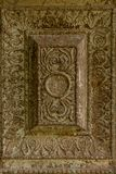 Tekstura - średniowieczny kamienny ornament Obrazy Stock