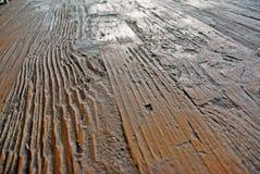 Tekstura reliefowe stare drewniane deski Zdjęcia Royalty Free