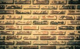 Tekstura rocznika stary ściana z cegieł Obrazy Stock