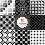 Tekstura skrzynka w czerni Fotografia Stock