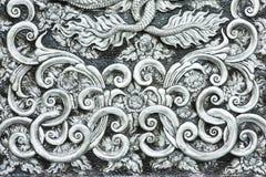 Tekstura srebny metalu talerz Zdjęcie Royalty Free