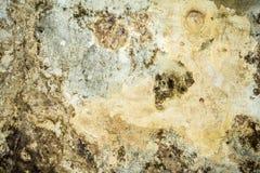 Tekstura stara antyk ściana, zniszczona warstwa betonowa ściana tynk, ciemny grunge abstrakta tło ilustracji