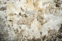 Tekstura stara antyk ściana, zniszczona warstwa betonowa ściana tynk, ciemny grunge abstrakta tło royalty ilustracja