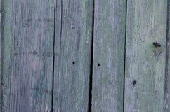Tekstura stara drewniana deska z obieranie farbą Obraz Stock