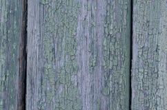 Tekstura stara drewniana deska z obieranie farbą Zdjęcie Royalty Free