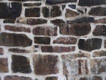 Tekstura stara i wett skały ściana dla tła Fotografia Royalty Free