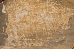 Tekstura stara kolor żółty ściana Zdjęcia Royalty Free