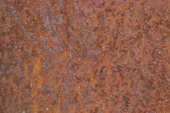 Tekstura stara ośniedziała metal powierzchnia Zdjęcie Stock
