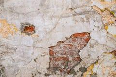 Tekstura stara skały ściana dla tła z okno Fotografia Stock