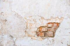 Tekstura stara skały ściana dla tła z okno Obraz Royalty Free