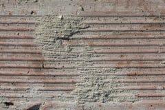 Tekstura Stara Wietrzejąca cegła w Srogim Bezpośrednim świetle słonecznym obrazy royalty free