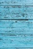Tekstura stary błękitnej zieleni drzewo Drewniany tekstury tło z scuffs, narysy obrazy stock