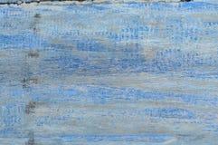 Tekstura stary drewniany błękit Fotografia Stock