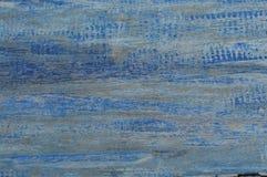 Tekstura stary drewniany błękit Obraz Royalty Free