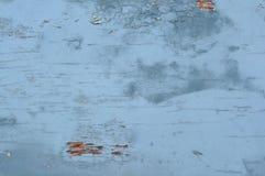 Tekstura stary drewniany błękit Obraz Stock