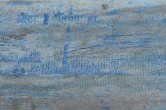 Tekstura stary drewniany błękit Zdjęcie Royalty Free
