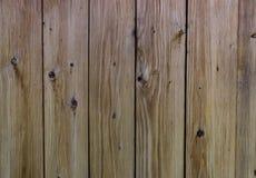 Tekstura stary drewniany ogrodzenie w szarość i kolorze żółtym Fotografia Stock
