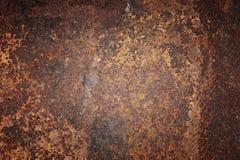 Tekstura stary ośniedziały metal Fotografia Stock