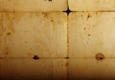 Tekstura stary rocznik yellowed papier, papiery fotografia stock