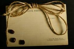 Tekstura stary rocznik yellowed papier, writing papiery fotografia royalty free