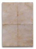 Tekstura starzy papiery Obrazy Royalty Free