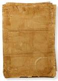 Tekstura starzy papiery Zdjęcie Royalty Free
