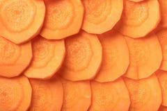 Tekstura surowy marchewki zbliżenie Obraz Stock