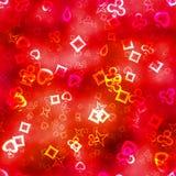 Tekstura symboli/lów serca ilustracji