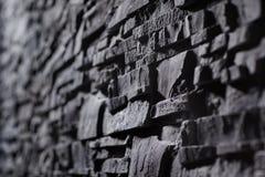 Tekstura szarość stonewall Fotografia Royalty Free