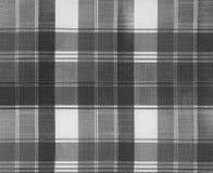 Tekstura szkockiej kraty tkanina Obraz Stock