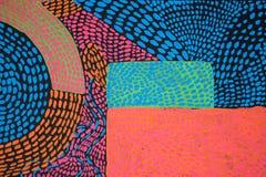 Tekstura, tło i Kolorowy wizerunek oryginalny Abstrakcjonistyczny obraz, royalty ilustracja