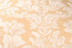 Tekstura, tło, wzór Tkaniny tapicerowania adamaszek jest reve obraz royalty free