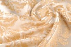 Tekstura, tło, wzór Tkaniny tapicerowania adamaszek jest reve obrazy royalty free