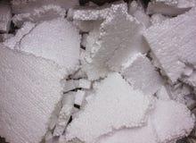 Tekstura termiczny izolowania styrofoam zbliżenie Struktura polistyrenu klingeryt fotografia royalty free