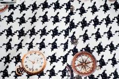 Tekstura, tkanina, tło Tekstura żeński smokingowy biel z Obrazy Royalty Free