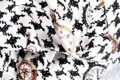 Tekstura, tkanina, tło Tekstura żeński smokingowy biel z Obrazy Stock