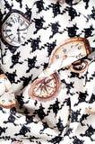 Tekstura, tkanina, tło Tekstura żeński smokingowy biel z Obraz Royalty Free