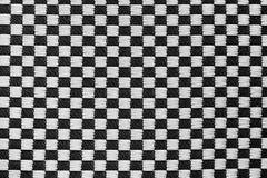 Tekstura tkanina w szachowej klatce Zdjęcie Royalty Free