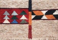Tekstura tradycyjny wełna dywan, Jordania, Środkowy Wschód zdjęcia royalty free