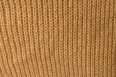 Tekstura trykotowy puloweru zakończenie obraz royalty free