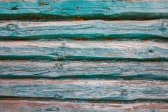 Tekstura turkusowa ściana bele stary dom zdjęcie royalty free