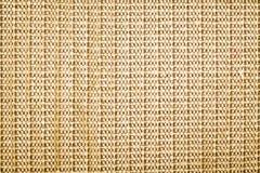 Tekstura tylnej strony dywan lub słomianka Fotografia Royalty Free
