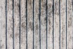 Tekstura unpainted stary betonu ogrodzenie Obraz Royalty Free