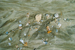 Tekstura w piasku Obraz Royalty Free