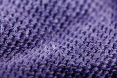 Tekstura wełny tkanina wyplata Obraz Royalty Free