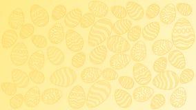 Tekstura Wielkanocni jajka ilustracji