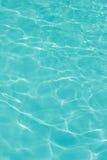 Tekstura woda w pływackim basenie Fotografia Royalty Free