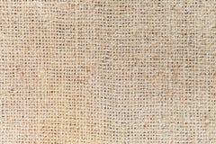 Tekstura workowa burlap kanwa Fotografia Royalty Free