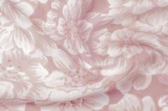 Tekstura, wzór Płótno - jedwabniczy modny kwiecisty tło Kwiecisty w Obraz Stock