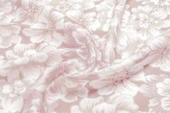 Tekstura, wzór Płótno - jedwabniczy modny kwiecisty tło Kwiecisty w Fotografia Stock
